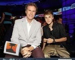 Will Ferrel and Justin Bieber