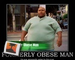 Formerly Obese Man