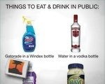 Things To Eat &amp; Drink In Public