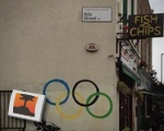 Olympic Ring Graffiti