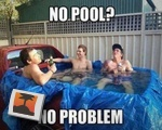 No pool?
