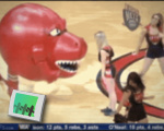 Raptor devours cheerleader