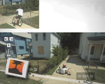 Guy wipes out on Google Streetview