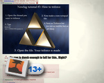 How to triforce on 4chan