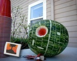 That's no moon... That's a melon