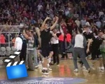 Basketball early celebration epic fail