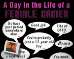 A day in the life of a female gamer