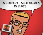 In Canada, Milk Comes In Bags.